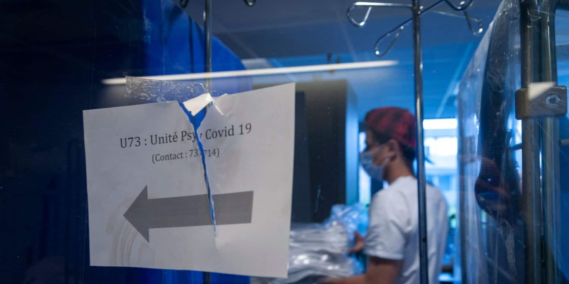 Coronavirus en Belgique: plus de 750 patients en soins intensifs, chiffre le plus haut depuis décembre