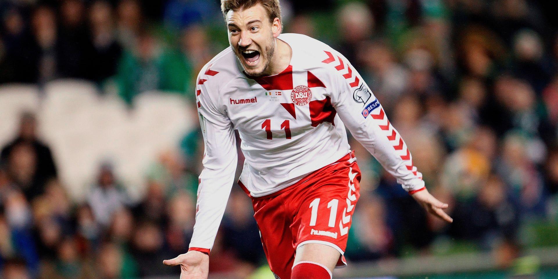 Blessé, Bendtner (Danemark) pourrait manquer le Mondial