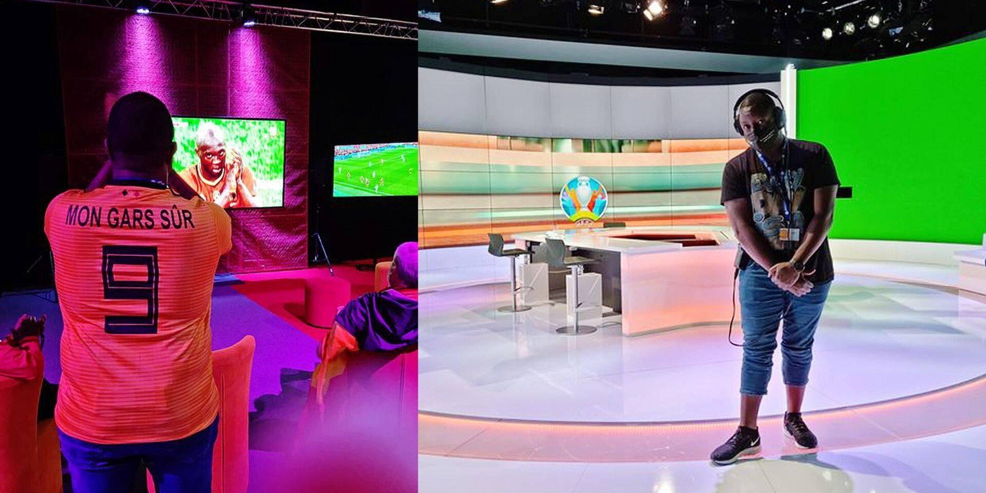 """Sum chauffe à blanc les supporters durant l'Euro sur le plateau de la RTBF: """"On est une grande famille!"""""""