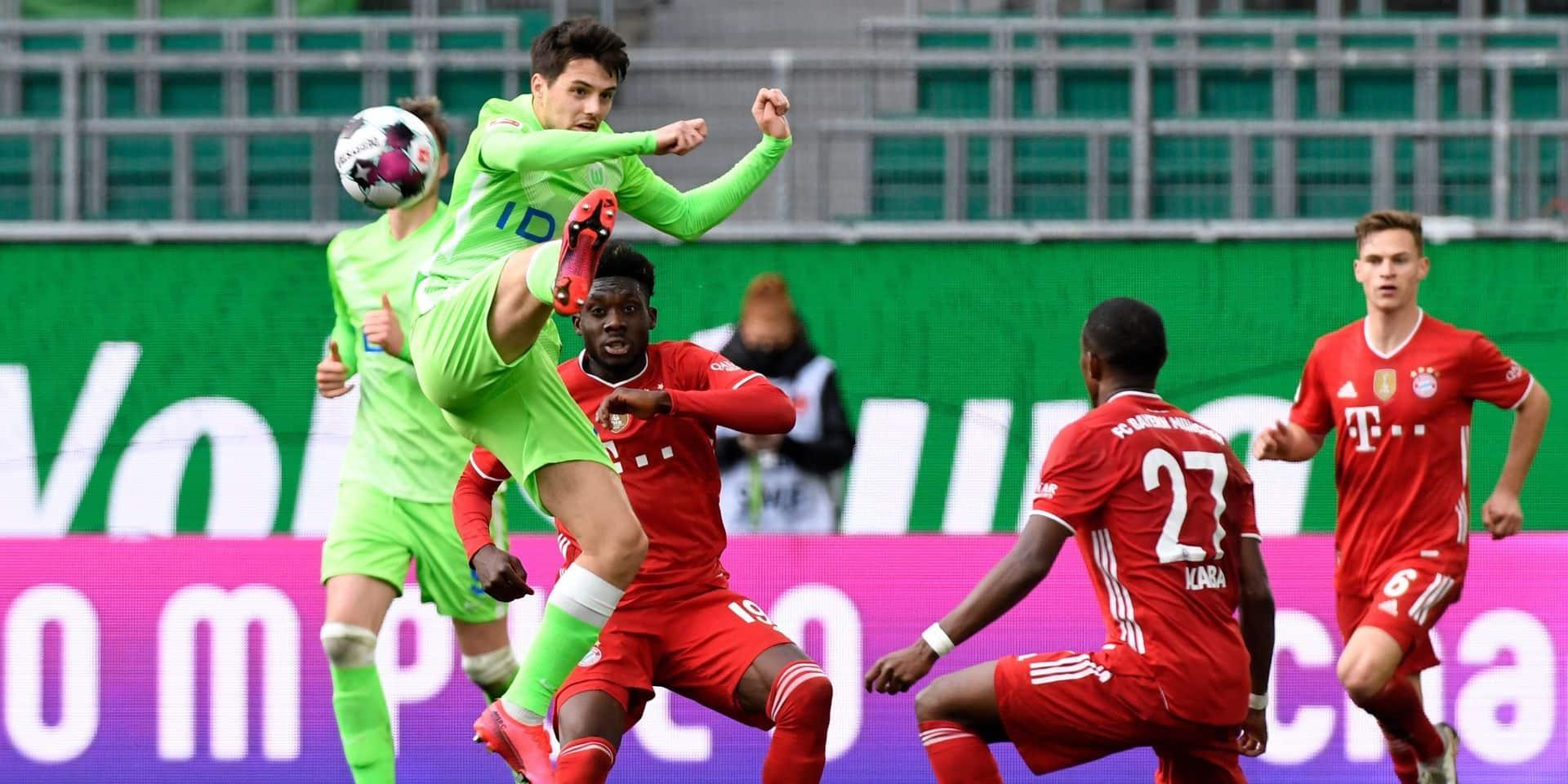 Bundesliga: le Bayern domine Wolfsburg et file vers le titre