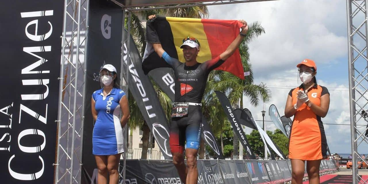 """Emmanuel Lejeune s'est offert son premier podium Ironman : """"Je sentais que j'en étais capable"""""""