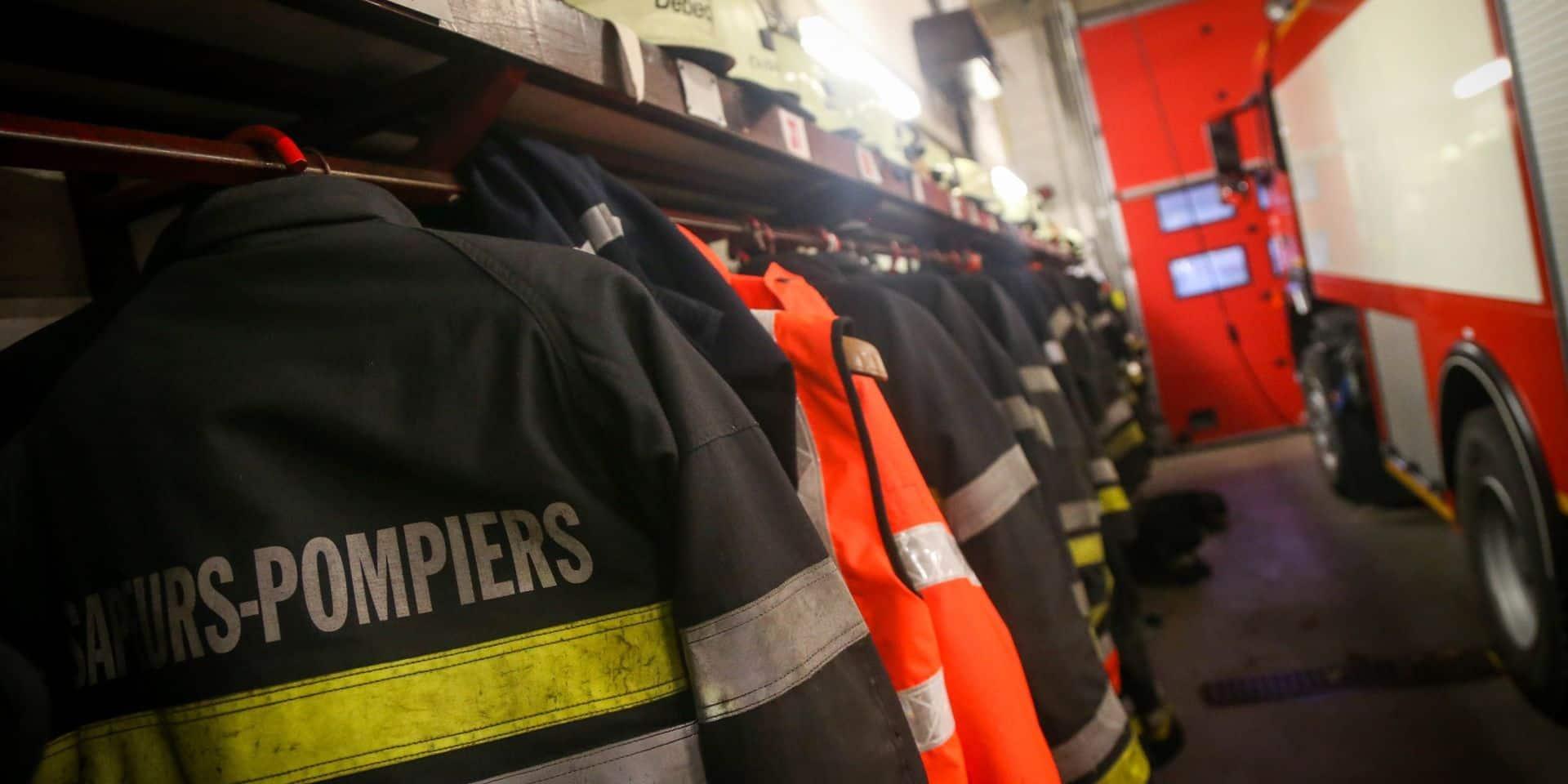 Incendie dans une habitation du centre-ville de Wavre