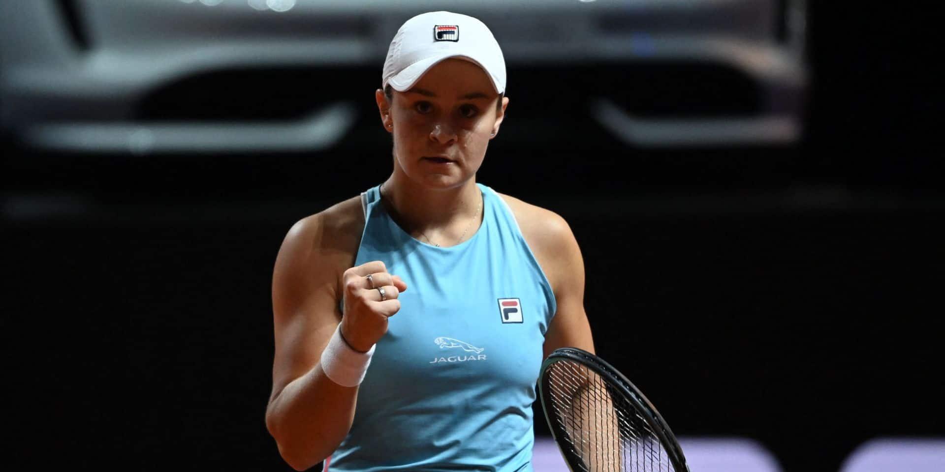WTA Stuttgart : Ashleigh Barty bat Aryna Sabalenka en finale et enlève son 11e titre