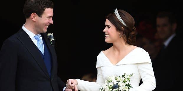 Eugenie d'York : les photos officielles décontractées de son mariage avec Jack Brooksbank - La DH