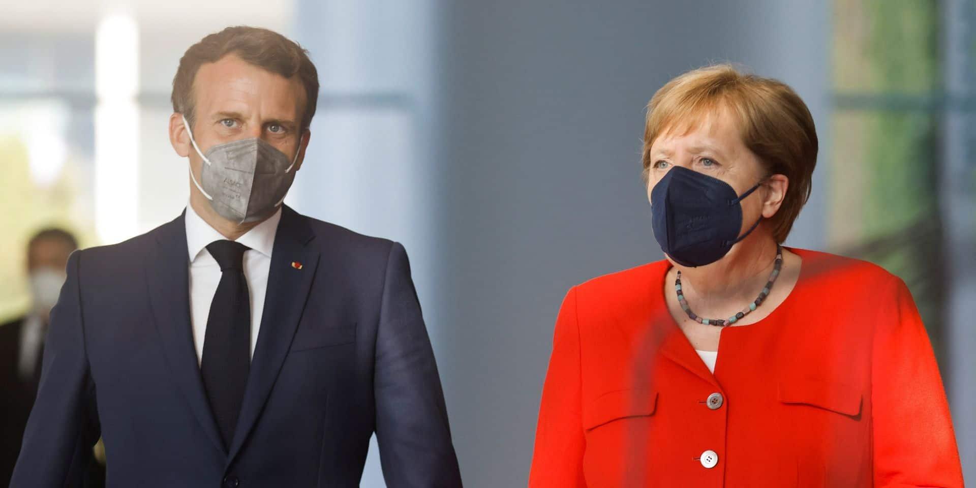 Angela Merkel et Emmanuel Macron se sont entretenus avec Xi Jinping par visioconférence