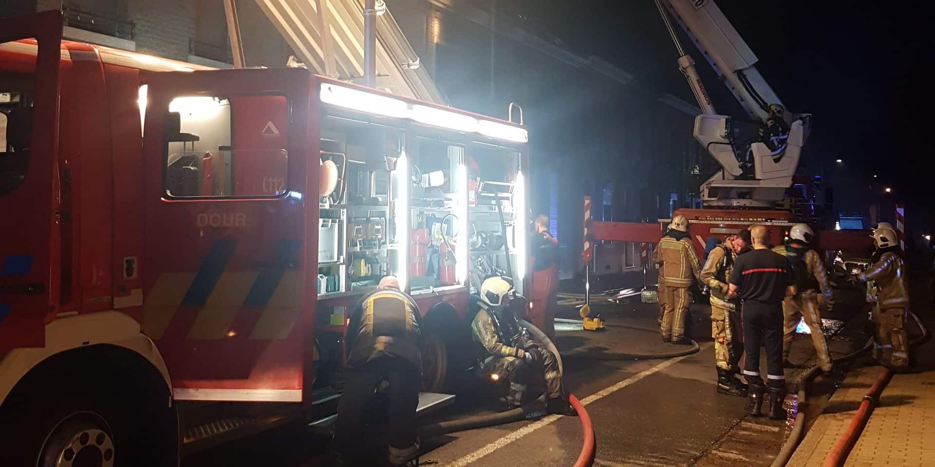Une personne décède dans l'incendie de son habitation à Dour