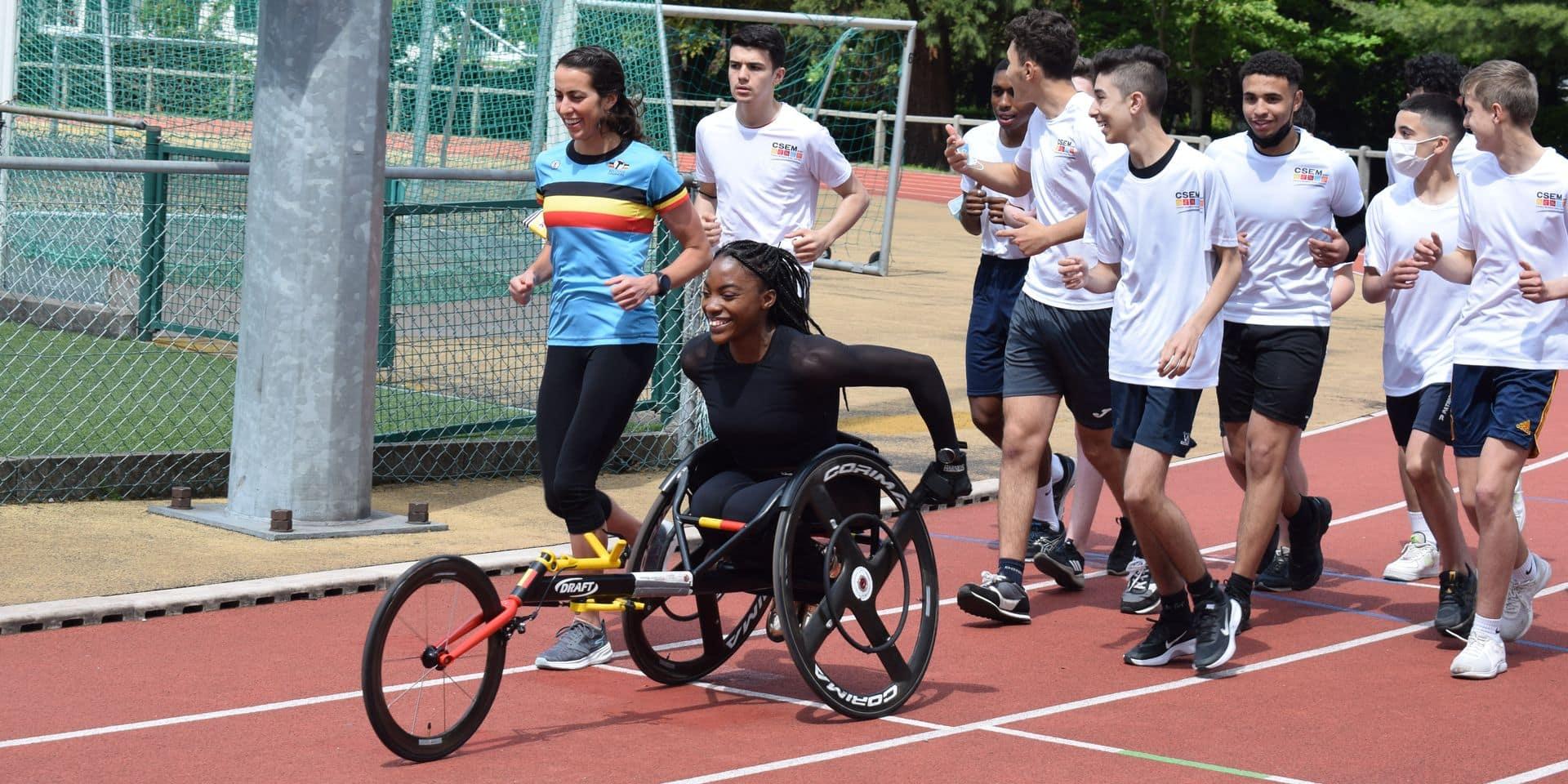 """Léa Bayekula en Pologne pour rejoindre les Jeux paralympiques: """"J'ai ma place à Tokyo"""""""