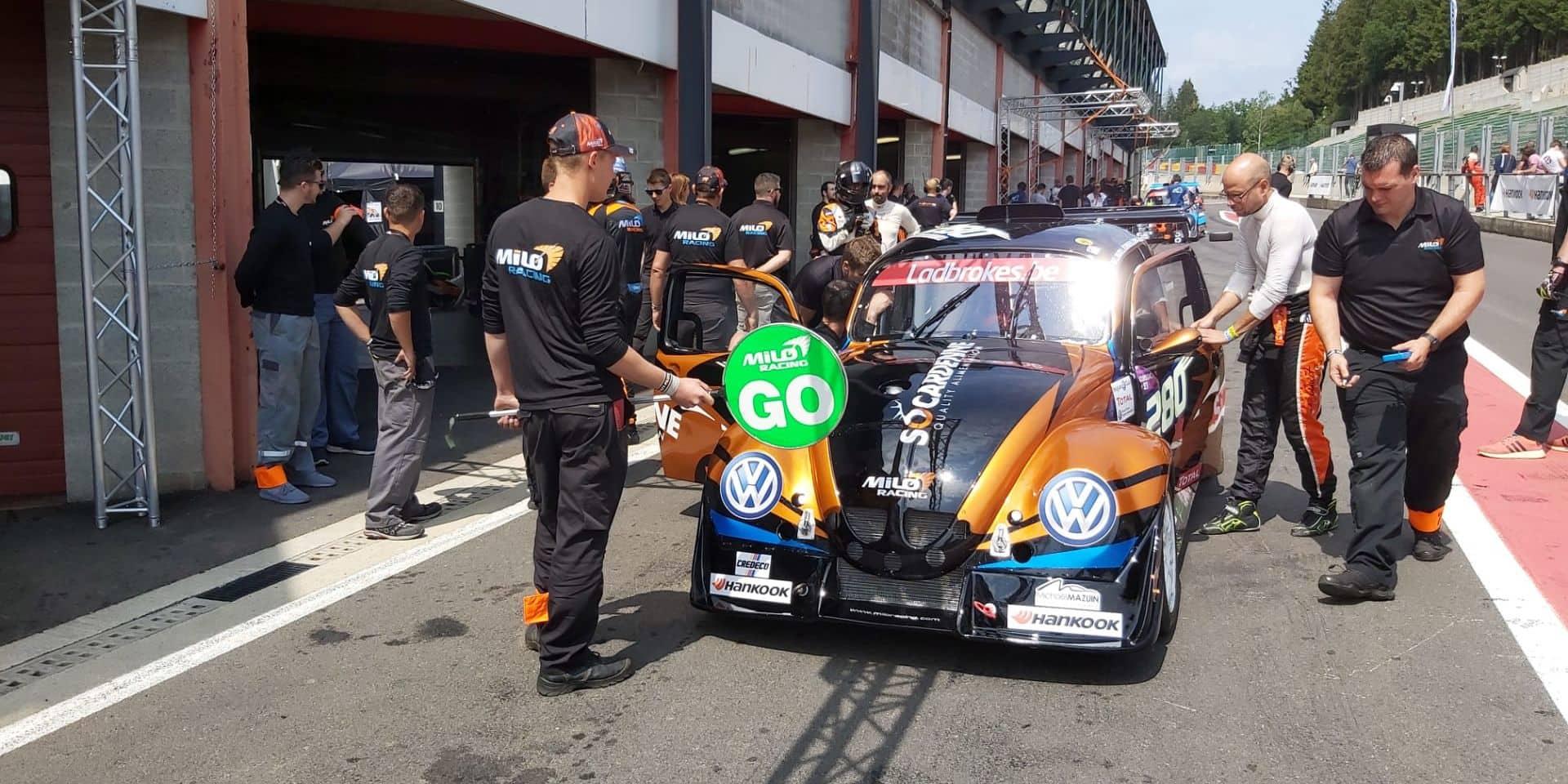 De la Cité des Loups au circuit de Spa Francorchamps pour la VW Fun Cup