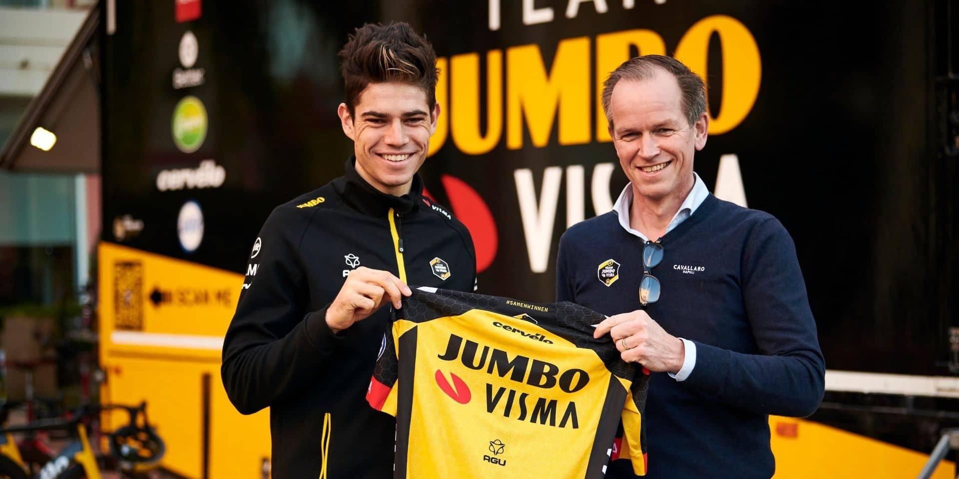 """Le manager de la Jumbo-Visma impressionné par Van Aert: """"Wout est peut-être bien le coureur le plus complet du monde"""""""