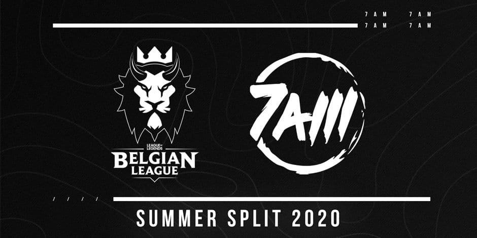 La Team 7AM remplace Timeout Esports en Belgian League