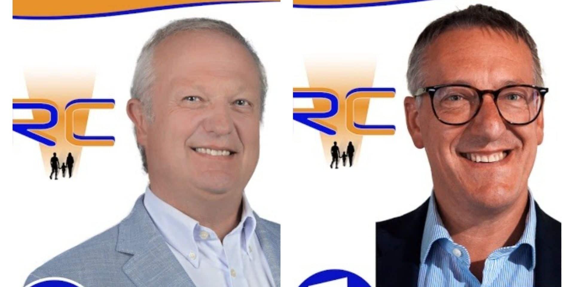 Jean-Marc Zocastello et Jean-Armand Wautier exclus du Renouveau Communal à Tubize