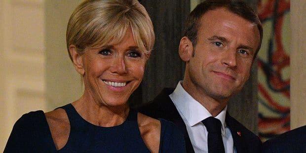 Plus proches que jamais, Brigitte et Emmanuel Macron fêtent leur 11ème anniversaire de mariage en toute discrétion - La ...