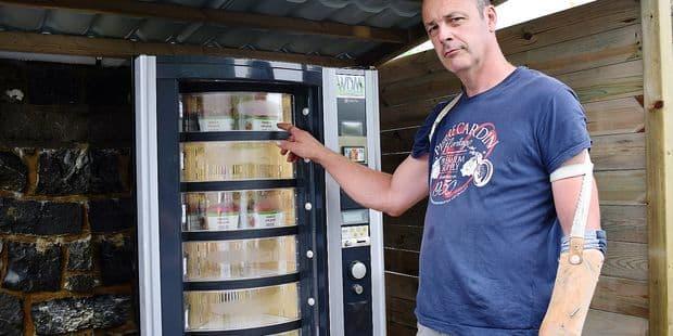 Un distributeur de Fraises de Wépion - La DH
