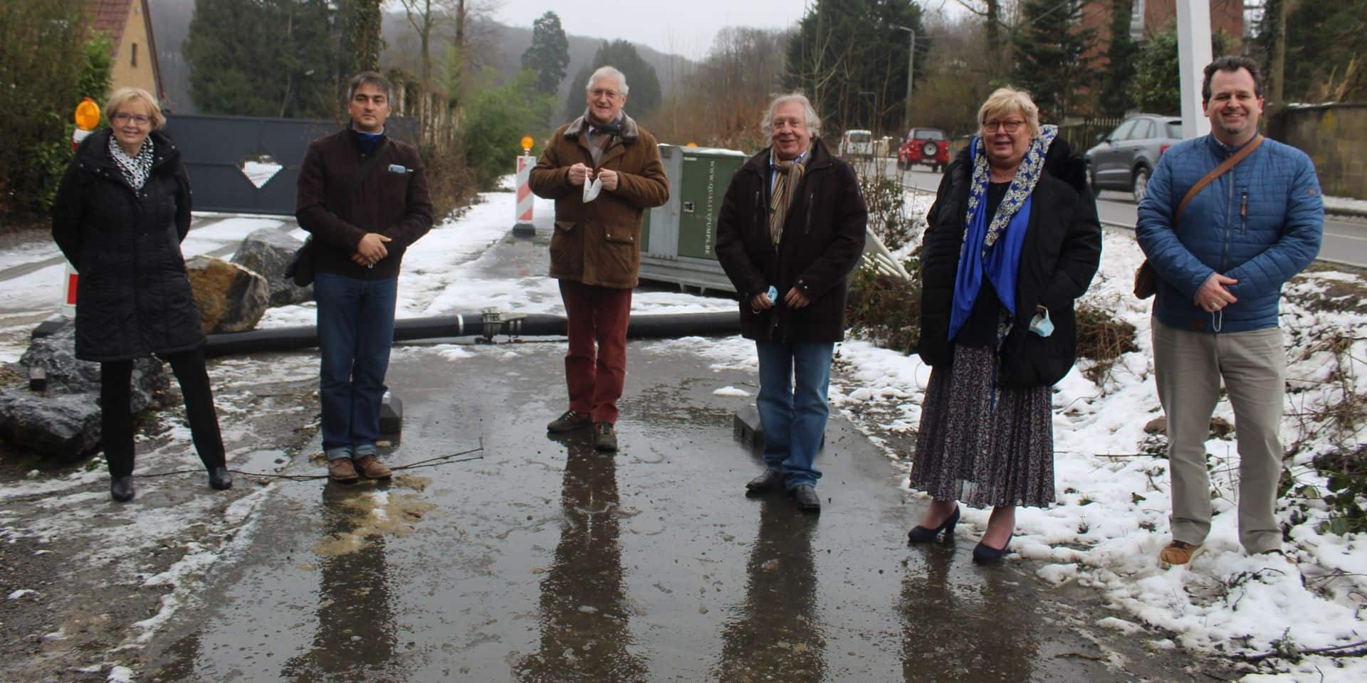 Vers la fin des inondations pour la commune de Gerpinnes ?