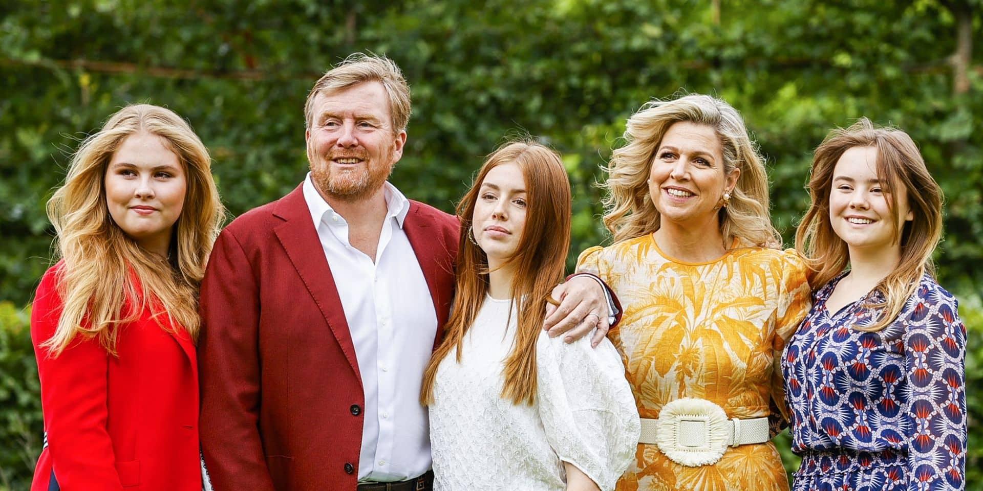 Le nouveau portrait ultra coloré de la famille royale des Pays-Bas