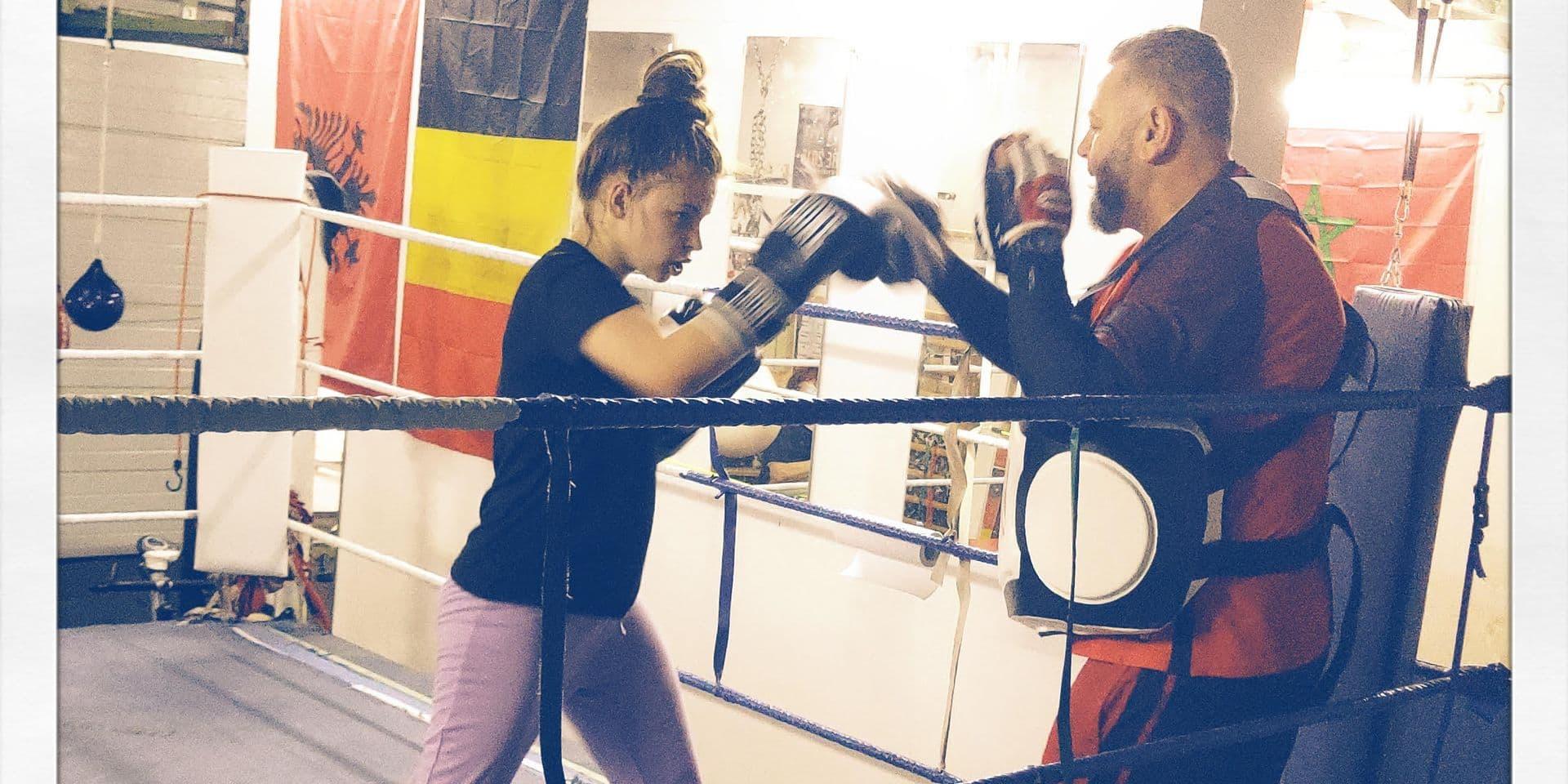 Colfontaine: espoir de la boxe, Shirel, 15 ans, rêve de s'entrainer à New-York aux côtés des plus grands