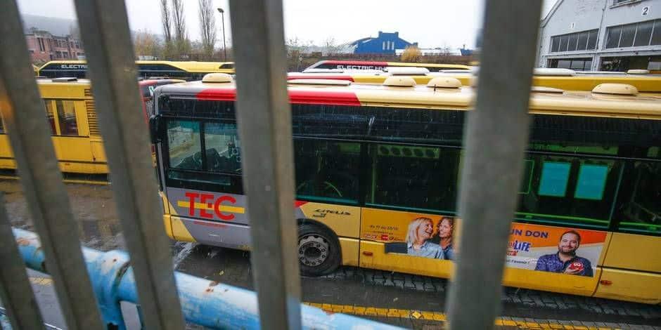 Risque de perturbation au TEC Charleroi ce lundi — Manifestations syndicales