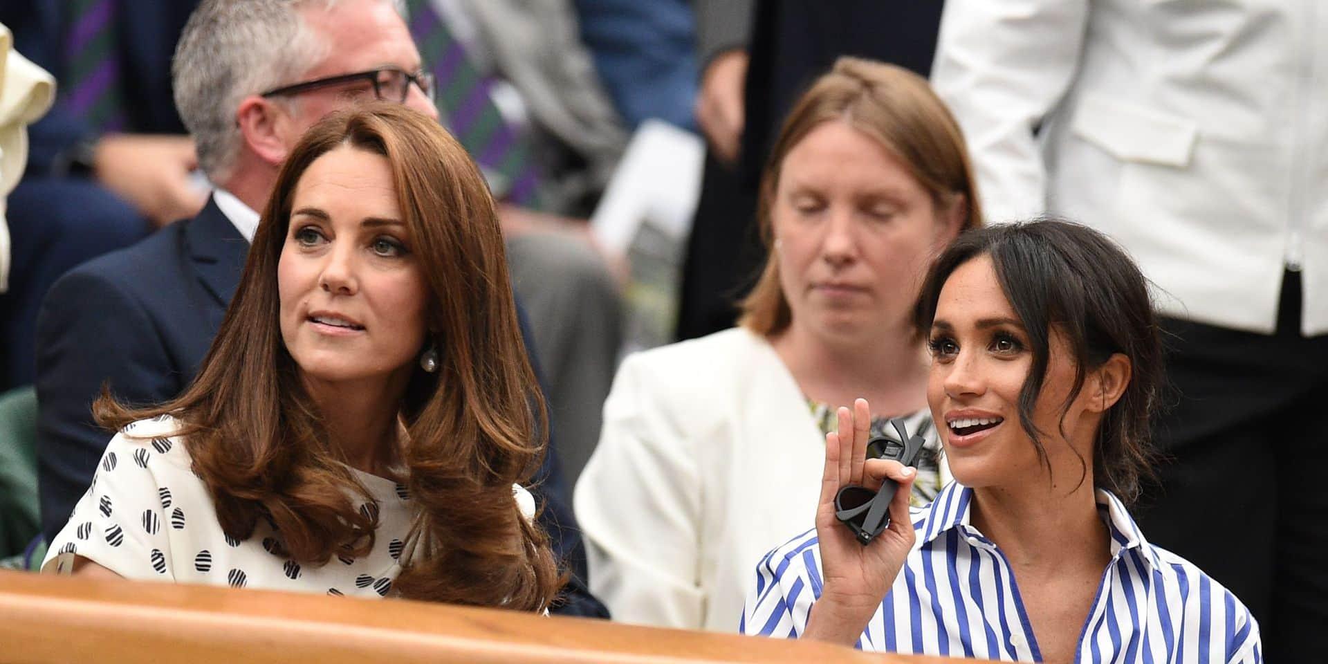 Wimbledon: Meghan et Kate rayonnantes dans la Royal Box