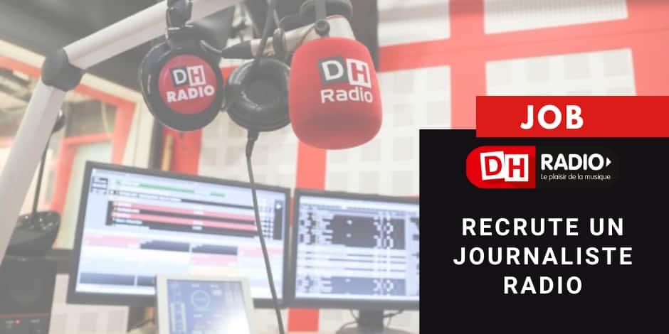 DH Radio recrute un journaliste