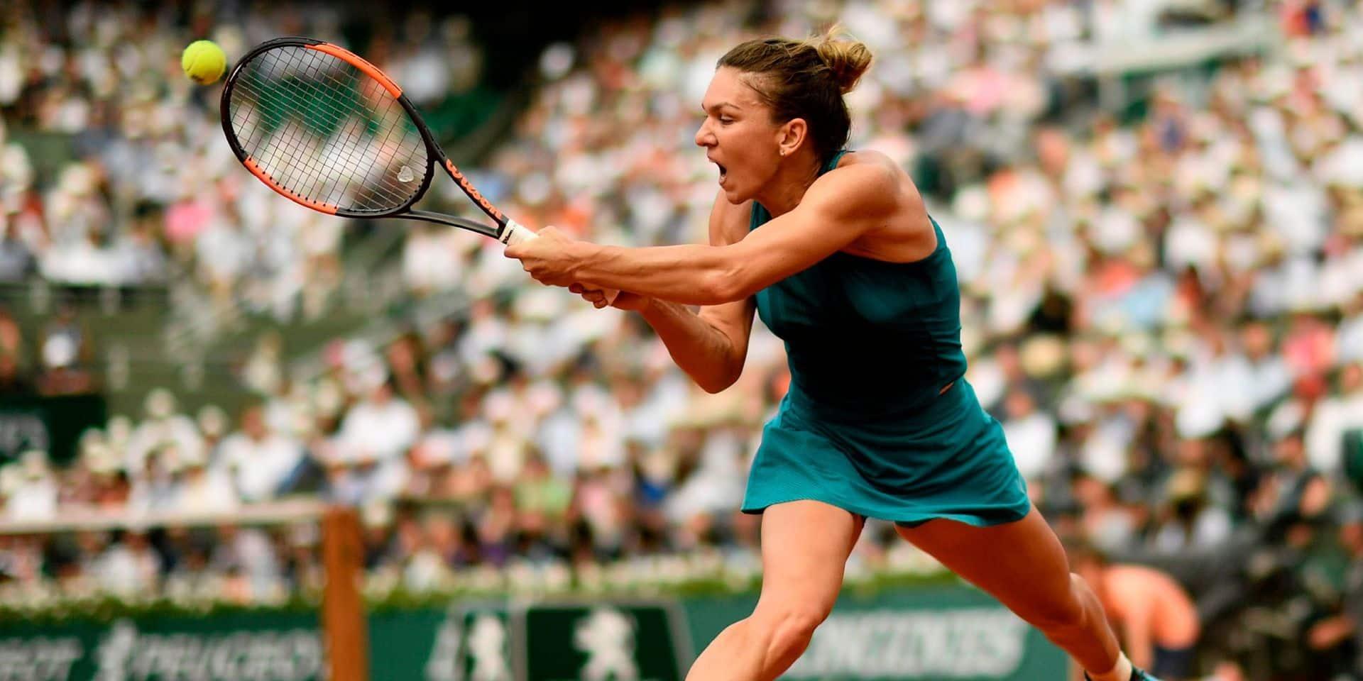 """Simona Halep ne se rendra pas à l'US Open: """"Ma santé est la priorité"""""""