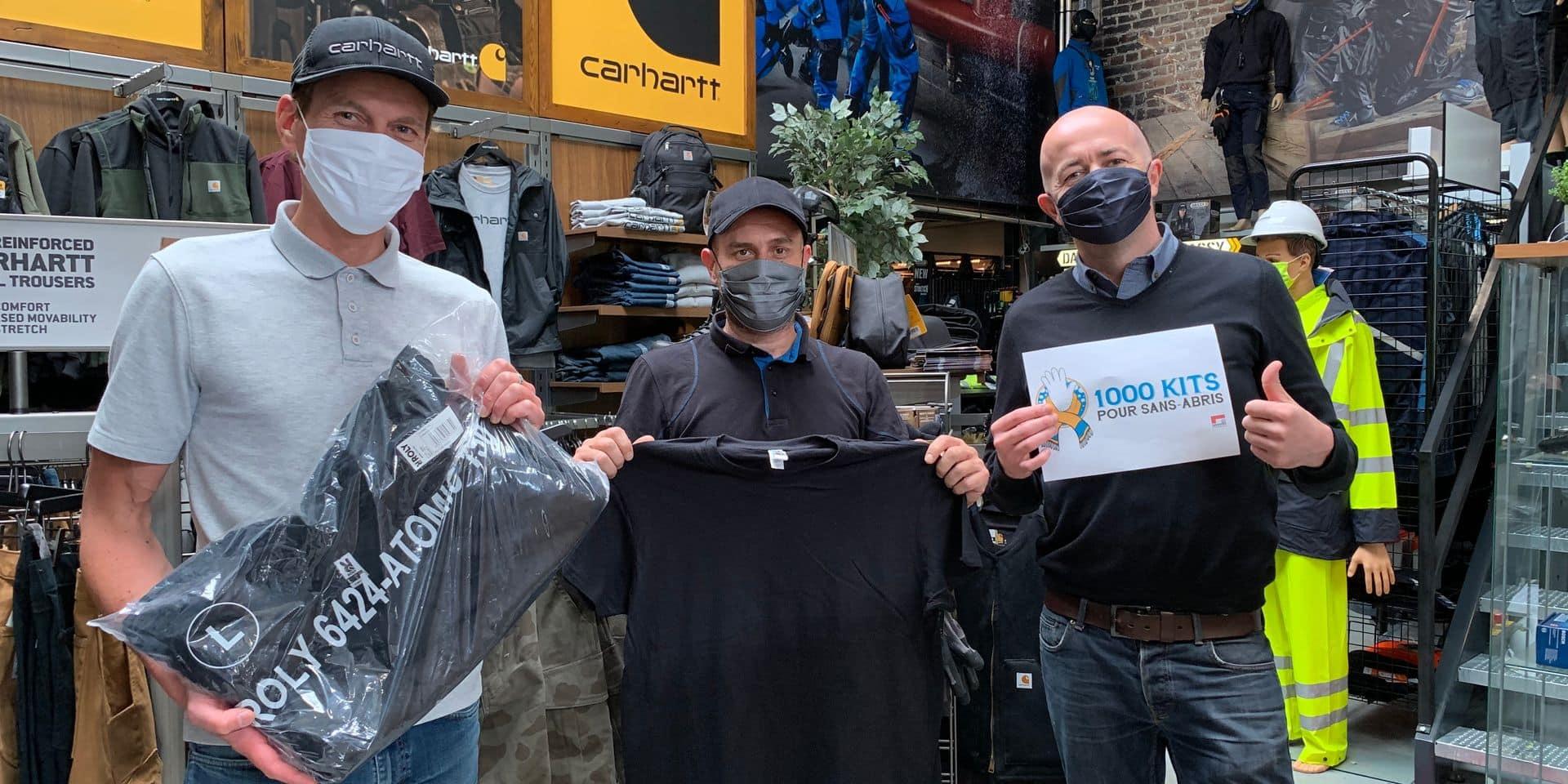 Liège : 1 000 kits pour les sans-abris !