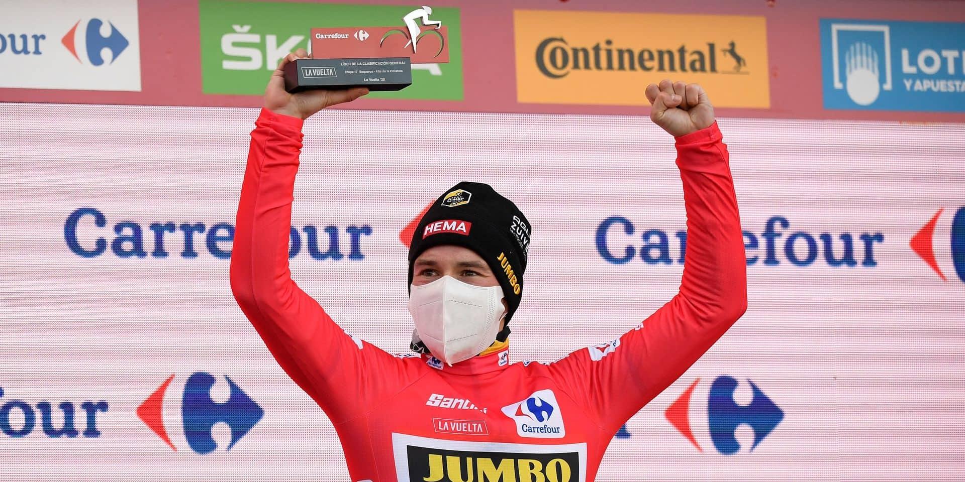 """Roglic ambitieux après sa seconde victoire à la Vuelta: """"Il reste de nouveaux défis à me fixer"""""""