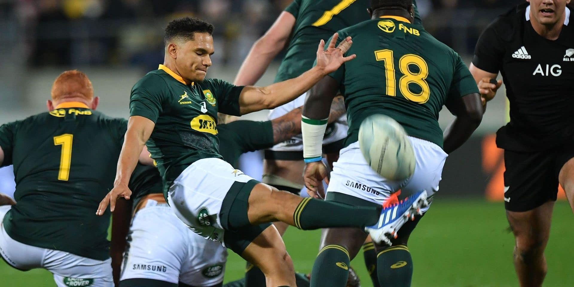 L'Afrique du Sud remporte son premier Rugby Championship après sa victoire en Argentine