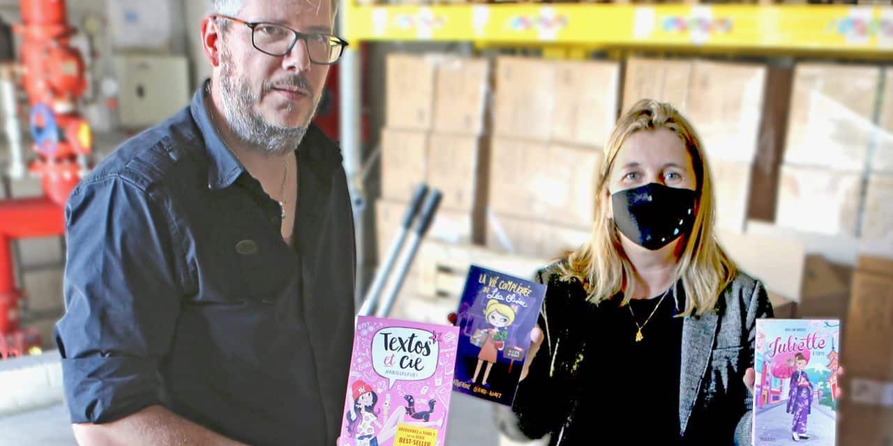 Les éditions Kennes de Loverval et la Ville de Charleroi offrent 5.600 livres aux écoles communales