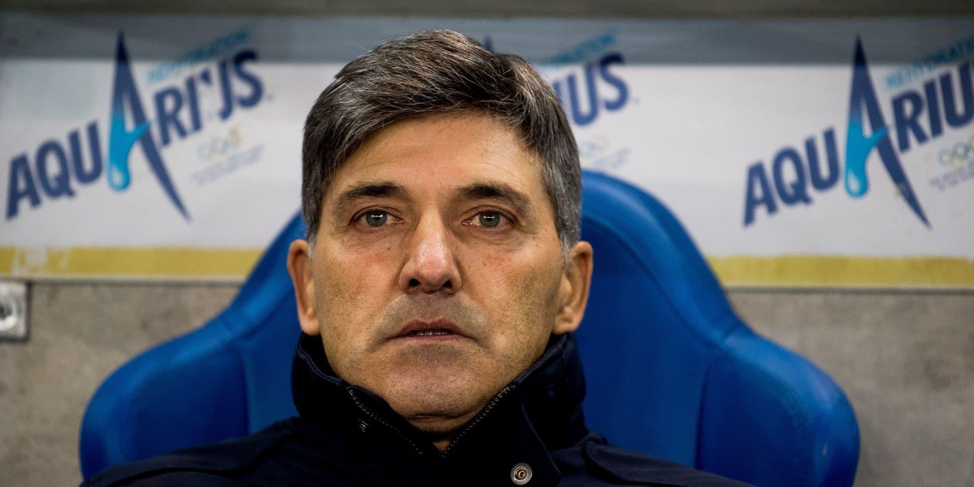 Felice Mazzù n'est plus l'entraîneur de Genk