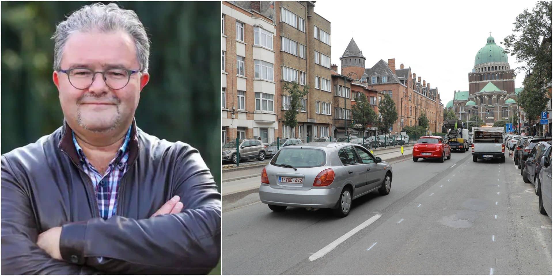 """Le réaménagement de l'avenue Charles Quint inquiète : """"on craint que cela crée un report du trafic sur Berchem"""""""
