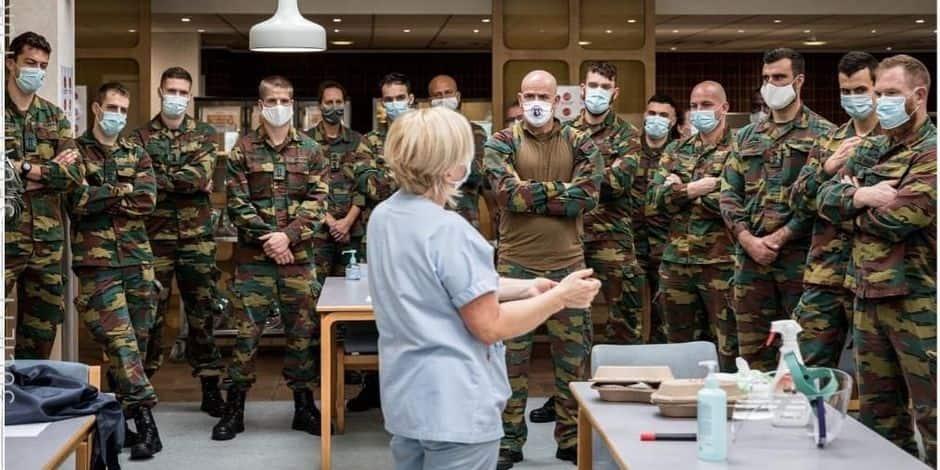 Les militaires investissent nos hôpitaux