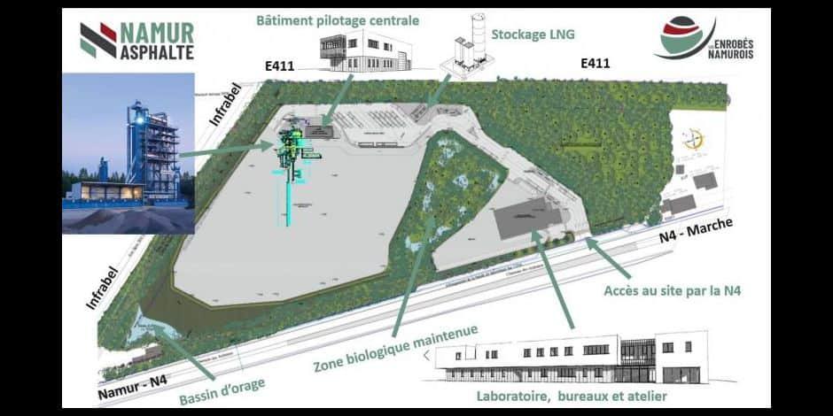 Installation d'une usine à tarmac à Assesse: réunion d'information ouverte aux Namurois