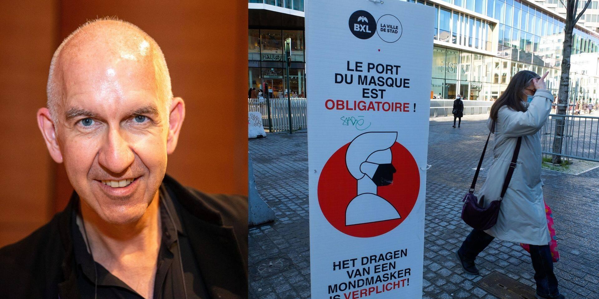 """Pour Geert Molenberghs, l'évolution des chiffres est encourageante: """"La situation sera plus claire dans les prochains jours"""""""