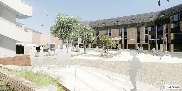 Ottignies-LLN : la place des Wallons en chantier dès février 2019 - La DH