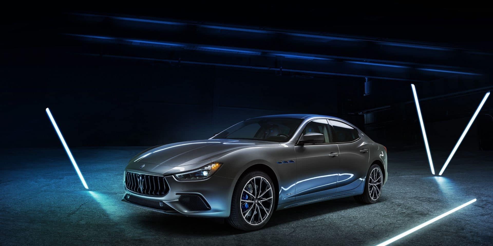 Maserati s'électrifie… doucement.