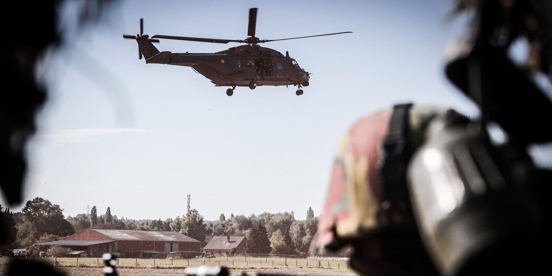 La ministre de la Défense assistera ce mercredi à un impressionnant exercice militaire à Estinnes