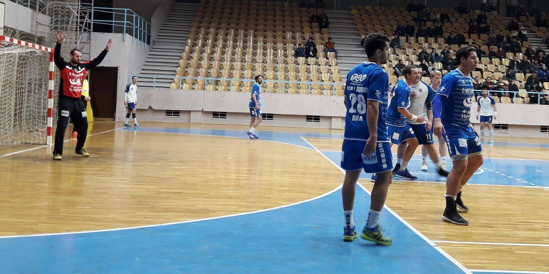 Handball: Visé qualifié avec la manière (26-38)