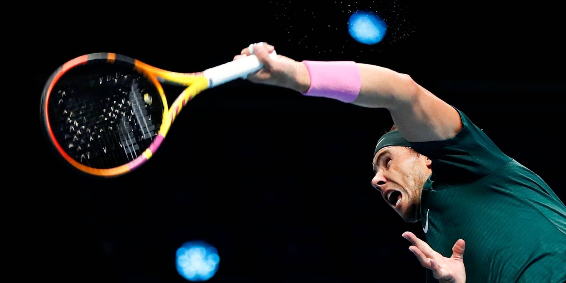"""Nadal après sa défaite contre Medvedev : """"Il a très bien joué, je lui souhaite bonne chance"""""""