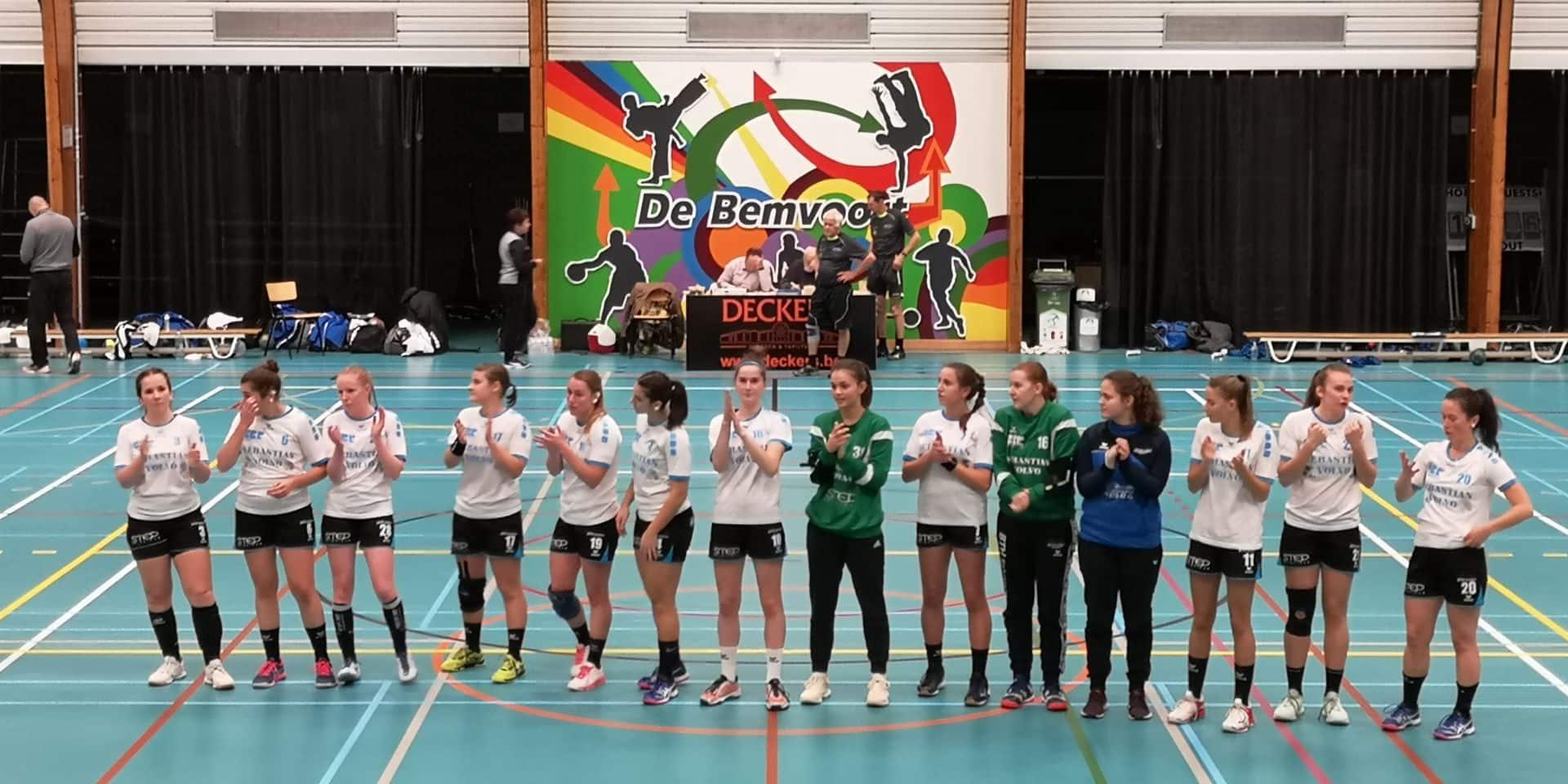 Handball: Le Fémina Visé a eu la bonne réaction à Overpelt (23-35)