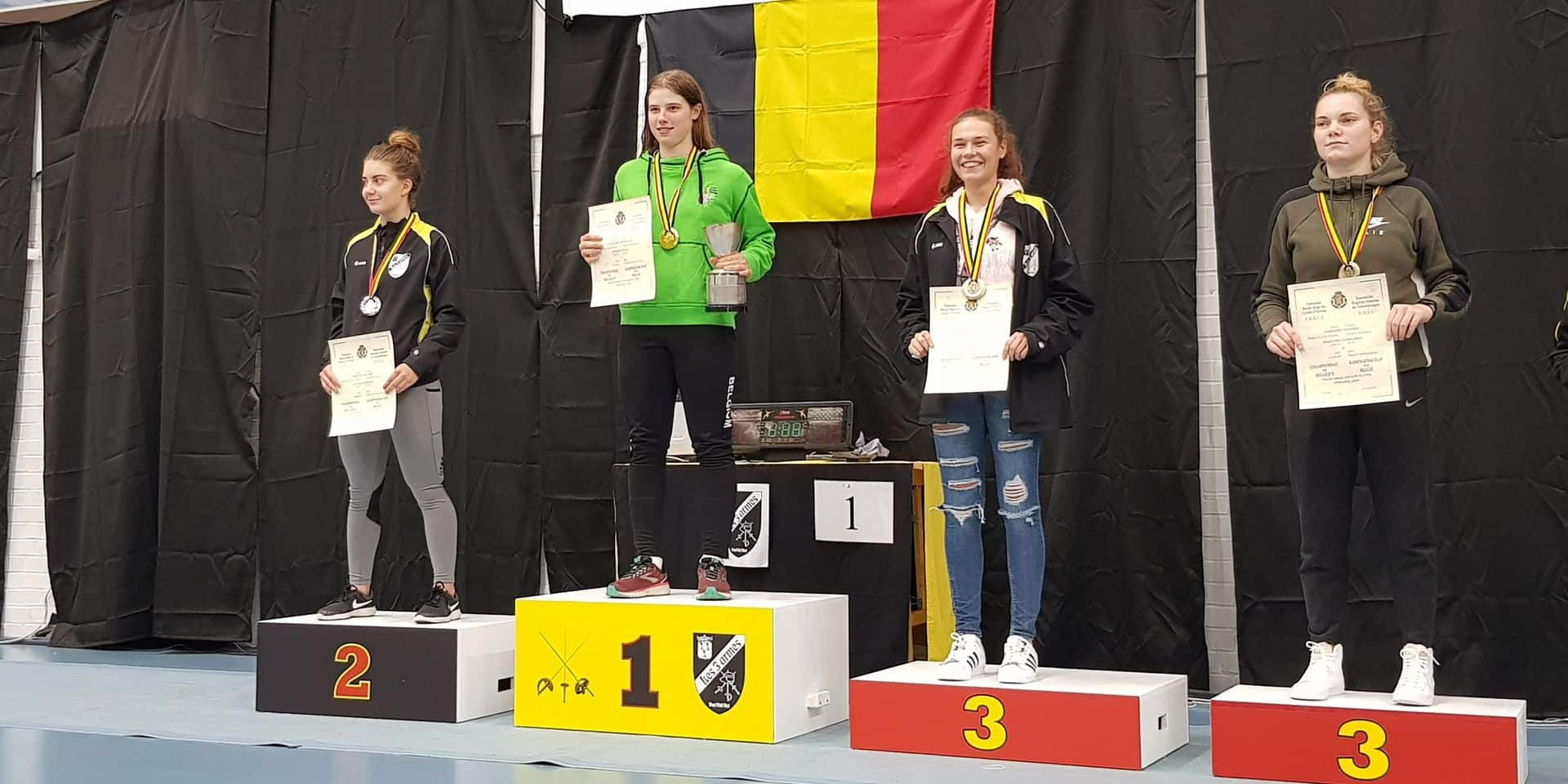 """Amandine Charlier obtient son premier titre national chez les seniors : """"Je suis très fière"""""""