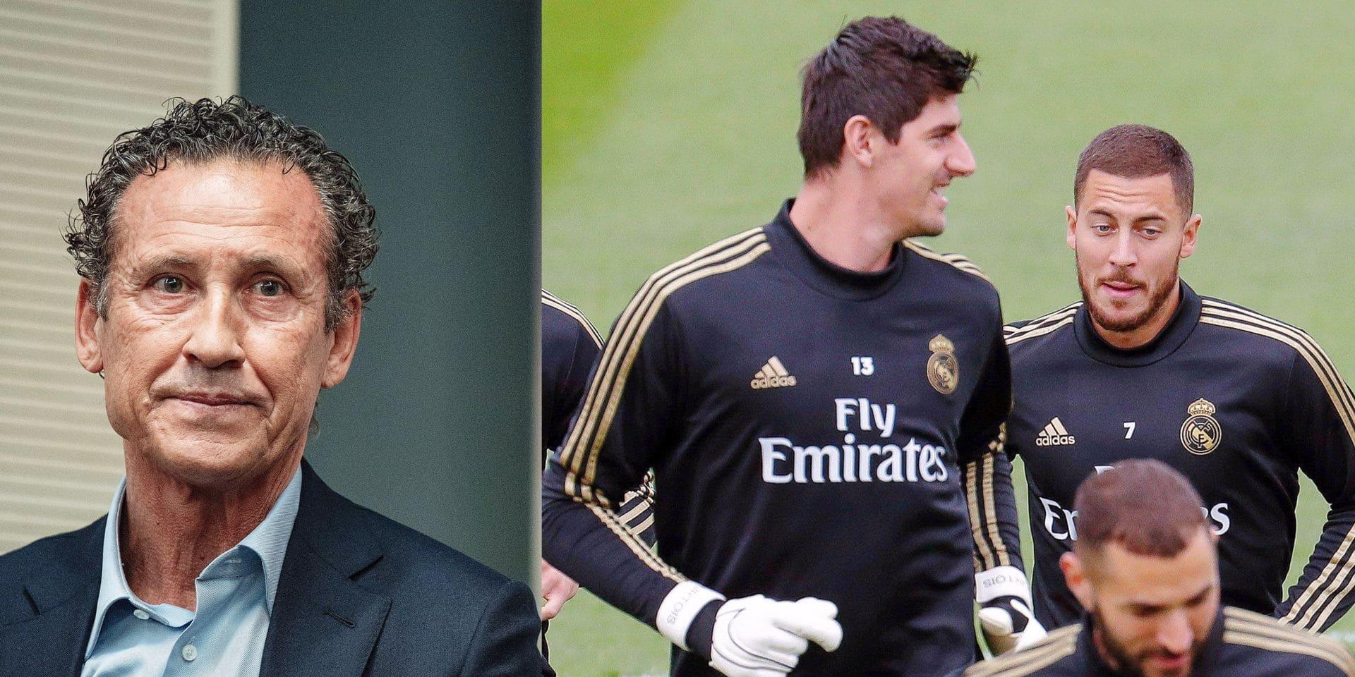 """Jorge Valdano s'exprime sur le capitaine des Diables: """"Hazard a tout pour être la prochaine légende du Real"""""""