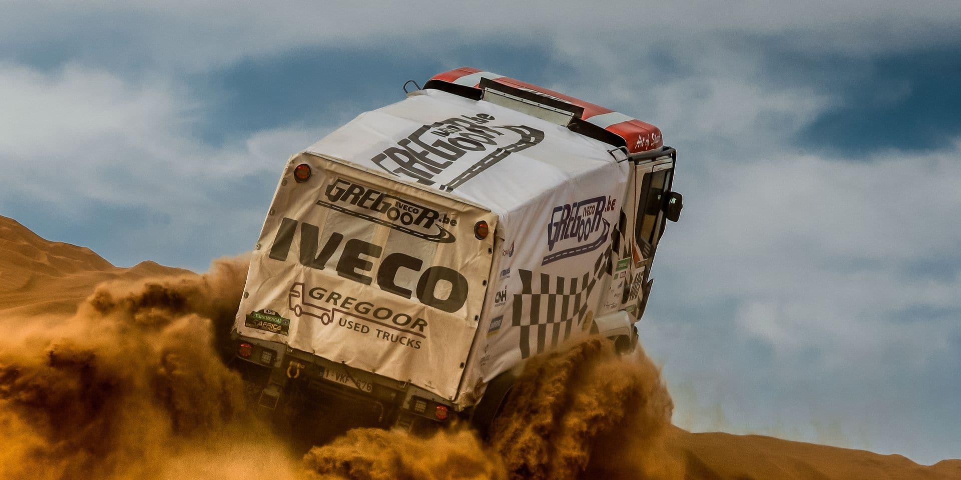 """Africa Eco Race: Igor Bauwens """"vise le podium"""""""