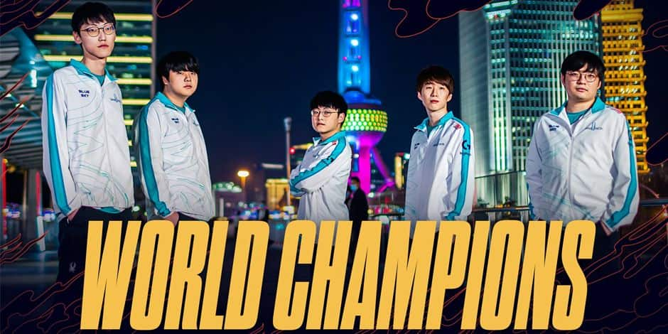 DAMWON Gaming remporte les Worlds 2020