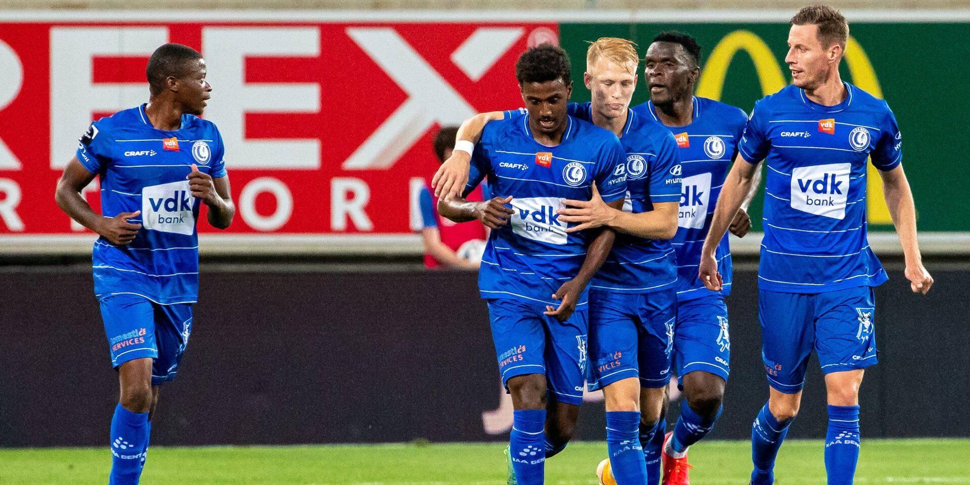 La Gantoise, victorieuse 4-0, réussit ses débuts européens en Conference League