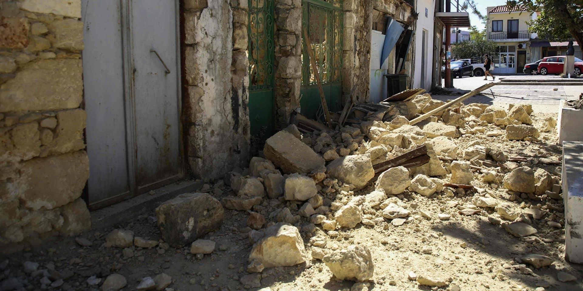 La Crète de nouveau secouée par un fort séisme, des dégâts matériels