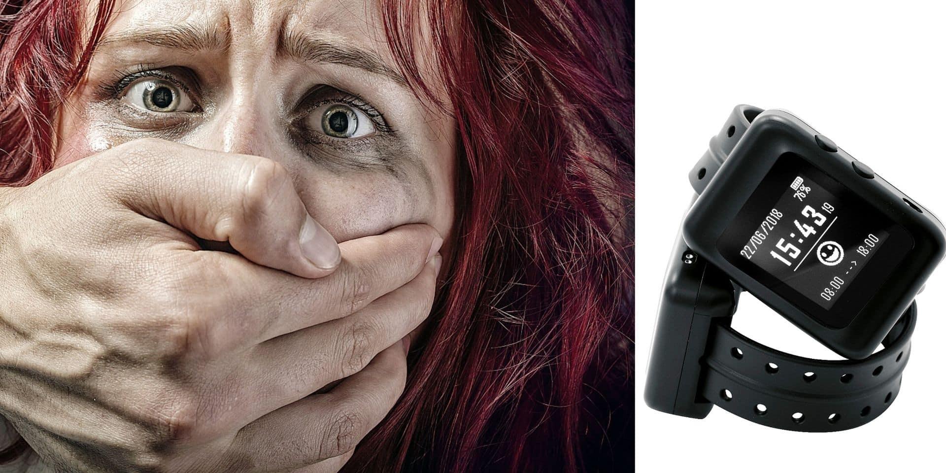 """Une montre anti-rapprochement pour les agresseurs conjugaux: """"Certaines victimes se sentiront rassurées. Pour d'autres, cela va augmenter leur angoisse"""""""