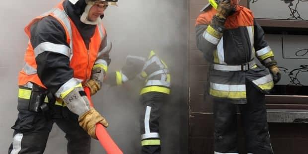 Liège : important incendie rue de Visé en pleine nuit - La DH