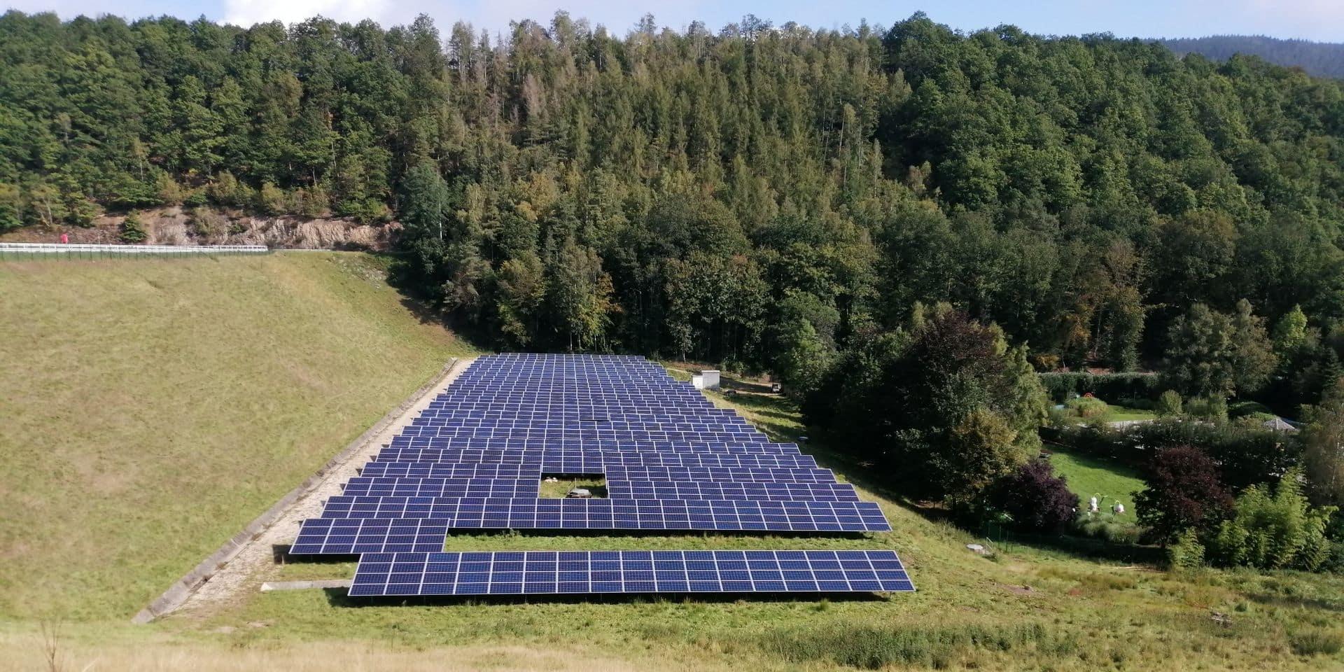 2640 panneaux photovoltaïques à Coo. Et une grande ambition verte !