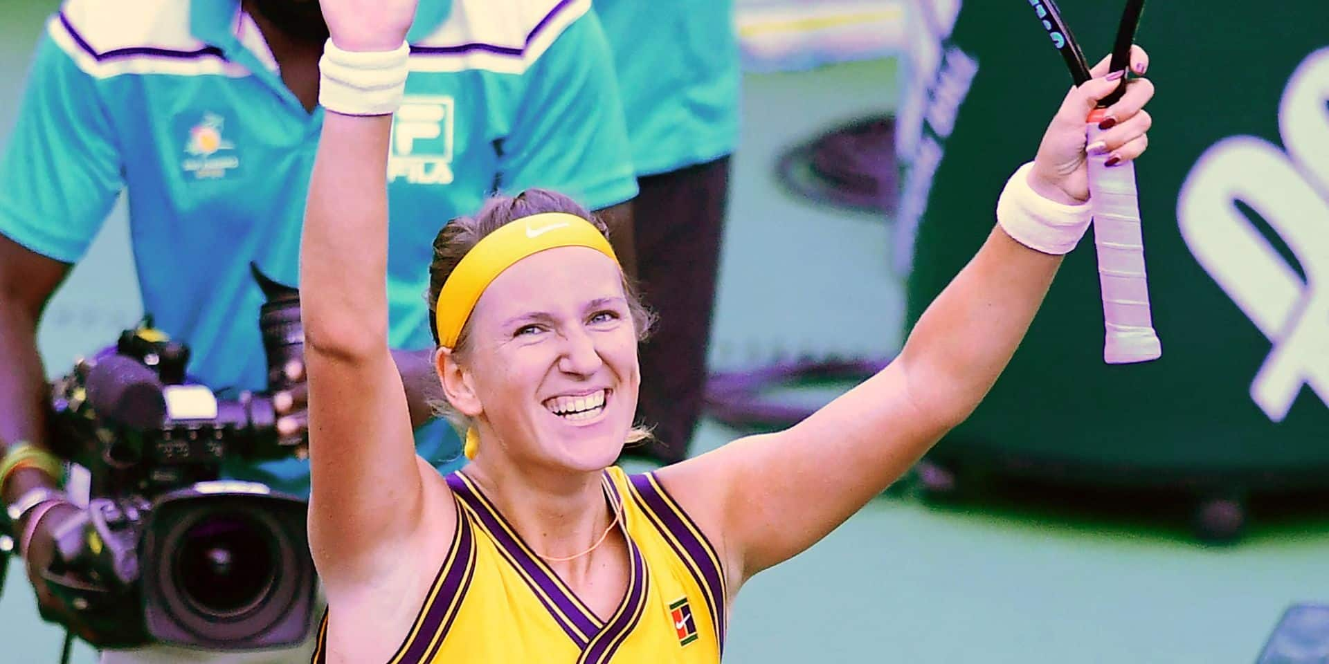 WTA Indian Wells: Victoria Azarenka et Jelena Ostapenko dans le dernier carré