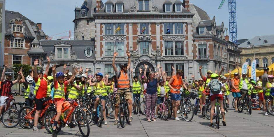 Namur, candidat à Wallonie Cyclable